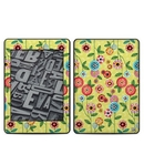 DecalGirl AKP18-BFLWRS Amazon Kindle Paperwhite 2018 Skin - Button Flowers (Skin Only)