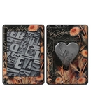 DecalGirl AKP18-BLKLACE Amazon Kindle Paperwhite 2018 Skin - Black Lace Flower (Skin Only)