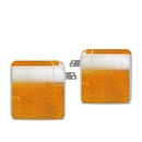 DecalGirl APA96-ALE Apple 96W USB-C Power Adapter Skin - Beer Bubbles (Skin Only)