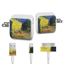 DecalGirl APCH-VG-CAFETERRACE-NIGHT Apple iPad Charge Kit Skin - Cafe Terrace At Night (Skin Only)