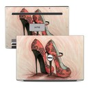 DecalGirl Dell XPS 13 Laptop Skin - Coral Shoes