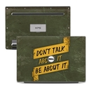 DecalGirl DX13-DONTALK Dell XPS 13 (9343) Skin - Don't Talk (Skin Only)