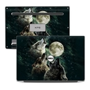 DecalGirl DX13-TWOLVES Dell XPS 13 (9343) Skin - Three Wolf Moon (Skin Only)