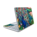 DecalGirl HC11-CORALPC HP Chromebook 11 Skin - Coral Peacock (Skin Only)