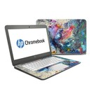 DecalGirl HC14-COSFLWR HP Chromebook 14 Skin - Cosmic Flower (Skin Only)