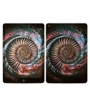 DecalGirl IPD7G-AMMGALAXY Apple iPad 7th Gen Skin - Ammonite Galaxy (Skin Only)