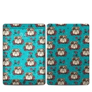 DecalGirl IPD7G-DOGROSE Apple iPad 7th Gen Skin - Bulldogs and Roses (Skin Only)