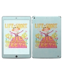 DecalGirl IPD7G-LIFEISSHORT Apple iPad 7th Gen Skin - Life is Short (Skin Only)