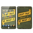 DecalGirl IPDMR-DONTALK Apple iPad Mini Retina Skin - Don't Talk (Skin Only)