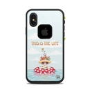 DecalGirl LFAX-THISLIFE Lifeproof iPhone X Fre Case Skin - This Is The Life (Skin Only)