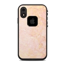 DecalGirl LFIXR-ROSE-MARBLE Lifeproof iPhone XR Fre Case Skin - Rose Gold Marble (Skin Only)