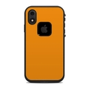 DecalGirl LFIXR-SS-ORN Lifeproof iPhone XR Fre Case Skin - Solid State Orange (Skin Only)