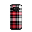 DecalGirl LFS8-PLAID-RED Lifeproof Galaxy S8 Fre Case Skin - Red Plaid (Skin Only)