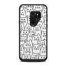 DecalGirl LFS9P-MOODYCATS Lifeproof Galaxy S9 Plus Fre Case Skin - Moody Cats (Skin Only)