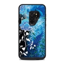 DecalGirl LFS9P-PCSKY Lifeproof Galaxy S9 Plus Fre Case Skin - Peacock Sky (Skin Only)