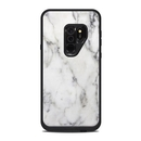 DecalGirl LFS9P-WHT-MARBLE Lifeproof Galaxy S9 Plus Fre Case Skin - White Marble (Skin Only)
