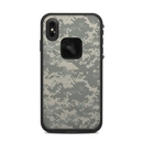 DecalGirl LFXSM-ACUCAMO Lifeproof iPhone XS Max Fre Case Skin - ACU Camo (Skin Only)