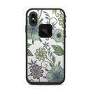 DecalGirl LFXSM-ANTIQUENO Lifeproof iPhone XS Max Fre Case Skin - Antique Nouveau (Skin Only)