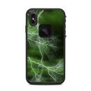DecalGirl LFXSM-APOC-GRN Lifeproof iPhone XS Max Fre Case Skin - Apocalypse Green (Skin Only)