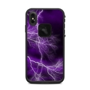 DecalGirl LFXSM-APOC-PRP Lifeproof iPhone XS Max Fre Case Skin - Apocalypse Violet (Skin Only)