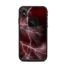 DecalGirl LFXSM-APOC-RED Lifeproof iPhone XS Max Fre Case Skin - Apocalypse Red (Skin Only)