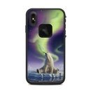 DecalGirl LFXSM-ARCTICKISS Lifeproof iPhone XS Max Fre Case Skin - Arctic Kiss (Skin Only)