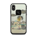DecalGirl LFXSM-LUXEPOOL Lifeproof iPhone XS Max Fre Case Skin - Luxe Retreat Poolside (Skin Only)