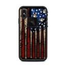 DecalGirl LFXSM-OLDGLORY Lifeproof iPhone XS Max Fre Case Skin - Old Glory (Skin Only)