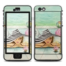 DecalGirl LNI6-POOLPARTY Lifeproof iPhone 6 Plus Nuud Case Skin - Delphine at the Pool Party (Skin Only)