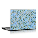 DecalGirl LS-BLUEDAISY Laptop Skin - Blue Daisy (Skin Only)
