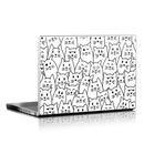 DecalGirl LS-MOODYCATS Laptop Skin - Moody Cats (Skin Only)