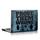 DecalGirl LS-PROVE Laptop Skin - Prove Them Wrong (Skin Only)