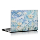 DecalGirl LS-WHTBLU Laptop Skin - White & Blue (Skin Only)