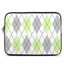 DecalGirl Laptop Sleeve - Mint Argyle