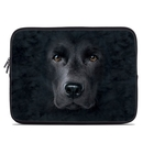 DecalGirl LSLV-BLK-LAB Laptop Sleeve - Black Lab