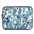 DecalGirl LSLV-BLUEINK Laptop Sleeve - Blue Ink Floral