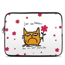 DecalGirl LSLV-CATHPY Laptop Sleeve - Catwad Happy