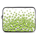 DecalGirl Laptop Sleeve - Daisy Field - Green