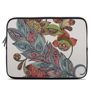 DecalGirl Laptop Sleeve - Feather Flower