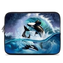 DecalGirl LSLV-ORCAWAVE Laptop Sleeve - Orca Wave