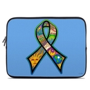 DecalGirl LSLV-PEACERIBBON Laptop Sleeve - Peace Ribbon