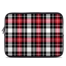 DecalGirl Laptop Sleeve - Red Plaid