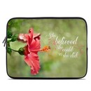 DecalGirl LSLV-SHEBEL Laptop Sleeve - She Believed