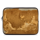 DecalGirl LSLV-UPSIDEDOWNMAP Laptop Sleeve - Upside Down Map
