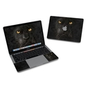DecalGirl MB316-BLK-PANTHER MacBook Pro 13in (2016) Skin - Black Panther (Skin Only)