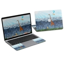 DecalGirl MB318-ATCLOUDS MacBook Air 13in (2018) Skin - Above The Clouds (Skin Only)