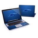 DecalGirl MBPR5-BDOLPHINS MacBook Pro Retina 15in Skin - Blue Dolphins (Skin Only)