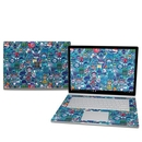 DecalGirl MISB25-COSRAY Microsoft Surface Book 2 15in (i7) Skin - Cosmic Ray (Skin Only)
