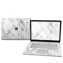 DecalGirl MISB25-WHT-MARBLE Microsoft Surface Book 2 15in (i7) Skin - White Marble (Skin Only)