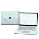 DecalGirl MISB25-WINTERGREEN Microsoft Surface Book 2 15in (i7) Skin - Winter Green Marble (Skin Only)